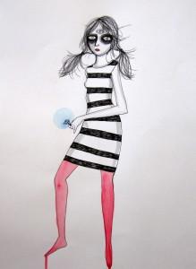 Third Eye Girl10.5x13.5
